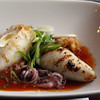 Elkhart Lake Wisconsin, Paddock Club, Andouille & Shrimp Stuffed Calamari