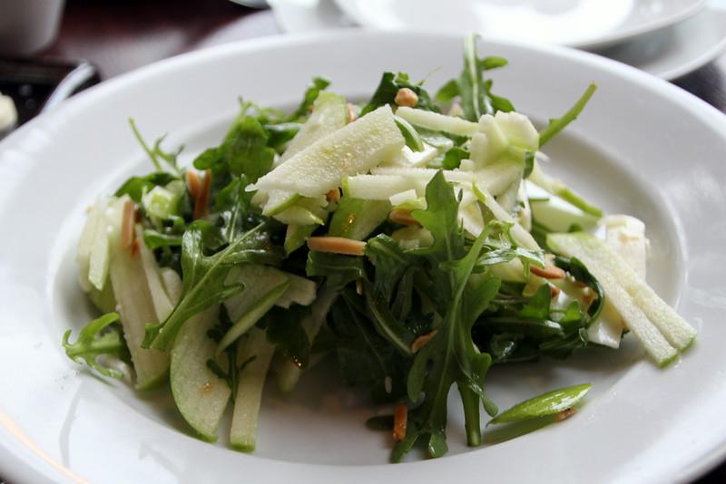 Elkhart Lake, Paddock Club, Granny Smith Apple & Manchego Salad