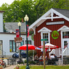Elkhart Lake Wisconsin, Off the Rail outdoor dining