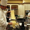 Elkhart Lake Wisconsin, Osthoff Resort, Cooking School, Chef Making Pasta