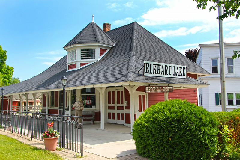Elkhart Lake Wisconsin, Train Station