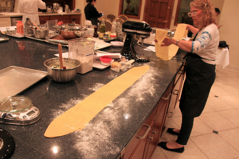 Elkhart Lake Wisconsin, Cooking School, Long Pasta