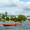 Elkhart Lake Wisconsin, Kayakers in lake