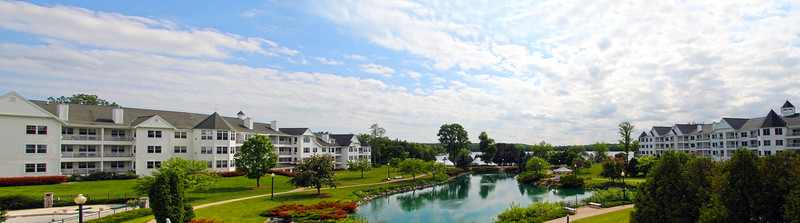 Elkhart Lake Wisconsin, Osthoff Resort Panarama, Wide View