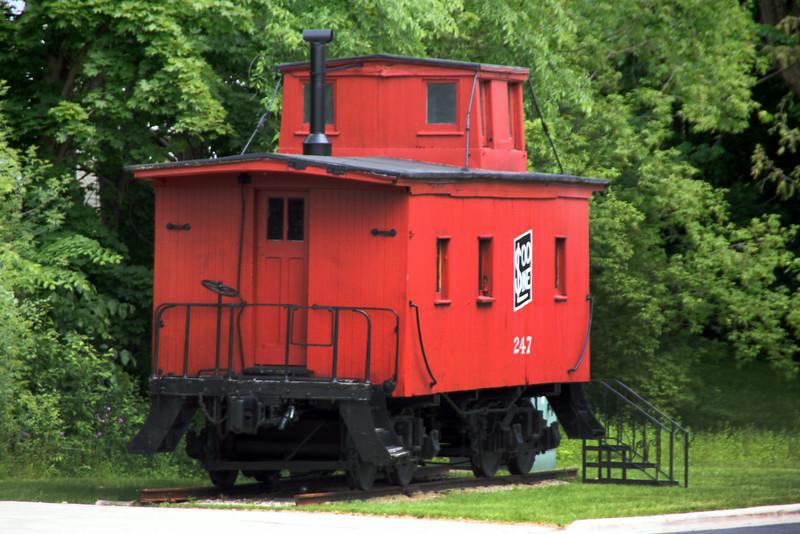 Elkhart Lake Wisconsin, Vintage Rail Car