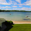 Elkhart Lake Wisconsin, View on Lake