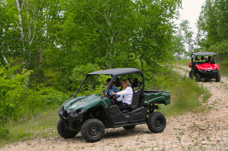 Elkhart Lake Wisconsin, Road America, ATV Riders