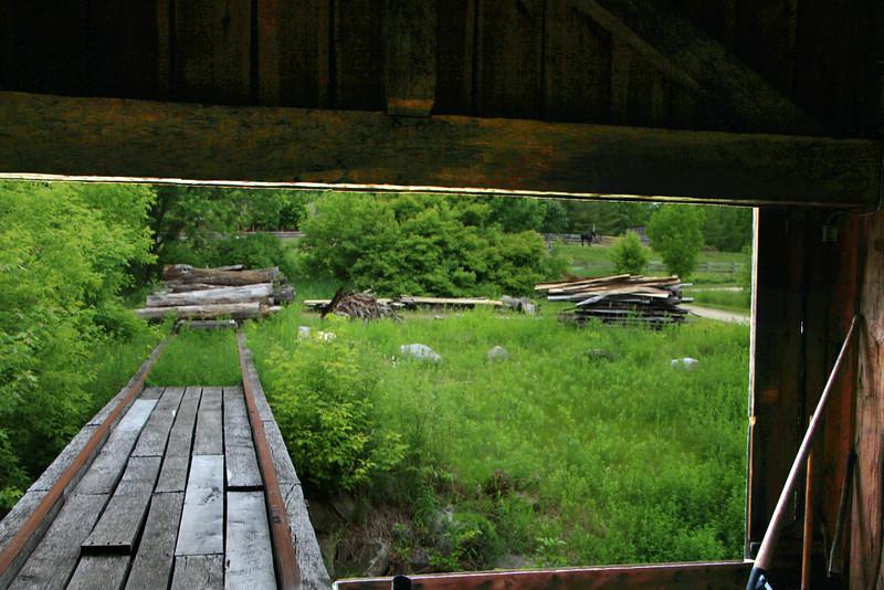 Greenbush Wisconsin, Wade House, Bucolic View from Blacksmith Shop