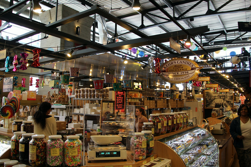 Milwaukee Wisconsin, Public Market, Home Made Nuts and Candies