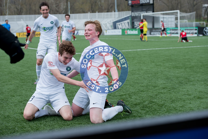 Chris Bruch Provides Late Game Winner for STLFC Academy vs FC United