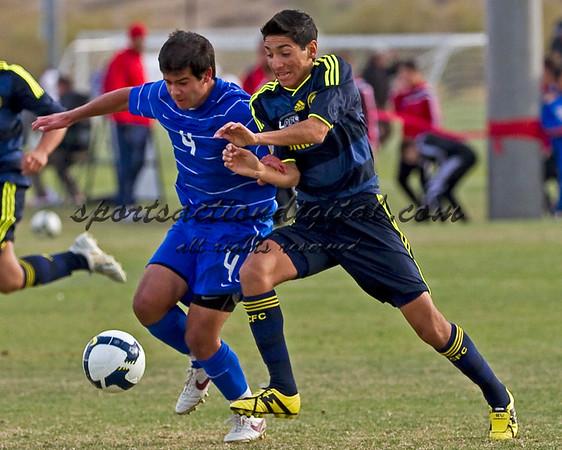 US Academy Select U-16 v LAFC Chelsea 12-06-09