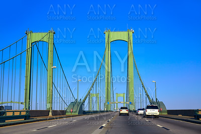 Delaware memorial bridge road in USA