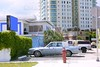 Miami beach casual coast city cars and buildings