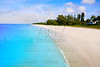 Naples beach in sunny day Florida US