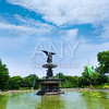 Central Park Angel of Waters fountain New York