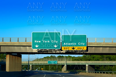 New jersey 295 detour  New York or Atlantic city