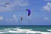 Kite surf water sports in Florida Miami beach