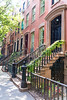 West Village in New York Manhattan buildings