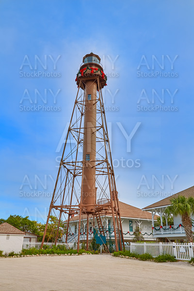 Florida Sanibel island lighthouse US