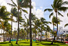 Miami Beach Ocean boulevard Art Deco Florida