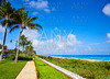 Palm Beach beach coastline Florida US