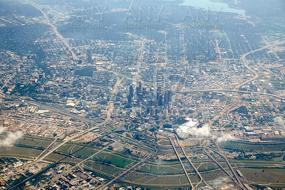 Dallas aerial view in Texas