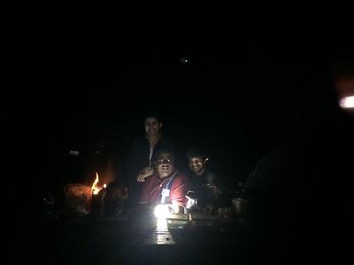 Camping at Big Sur