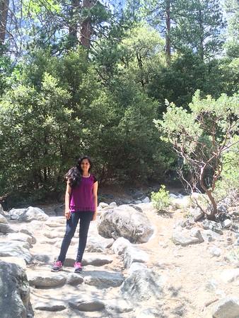 Columbia rock hike @ Yosemite National Park