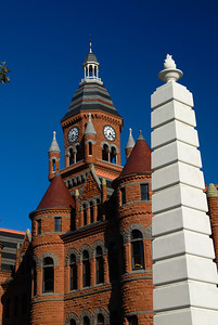 Old Red Dallas County Courthouse - Dallas, Texas