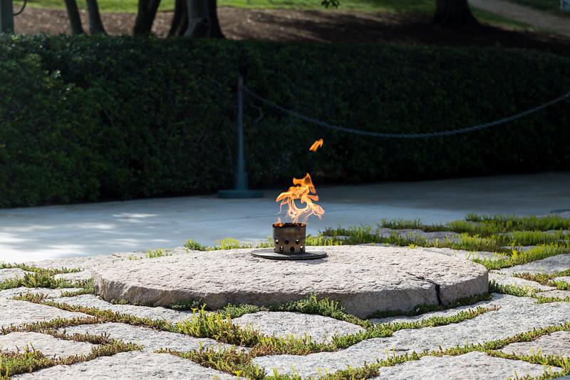 JFK's grave, Arlington
