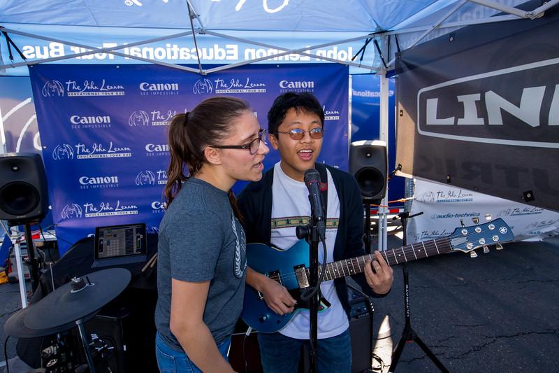 2017_02_10, CA, Elk Grove, Franklin High School, Yamaha, Tents