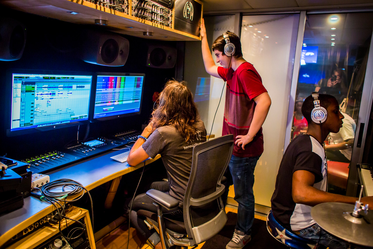2013_11_04, Avid, Dillard Center for the Arts, FL, Flordia, Fort Lauderdale, Ft. Lauderdale, Kyle Baudour, Pro Tools, Session, Student Recording Session, students