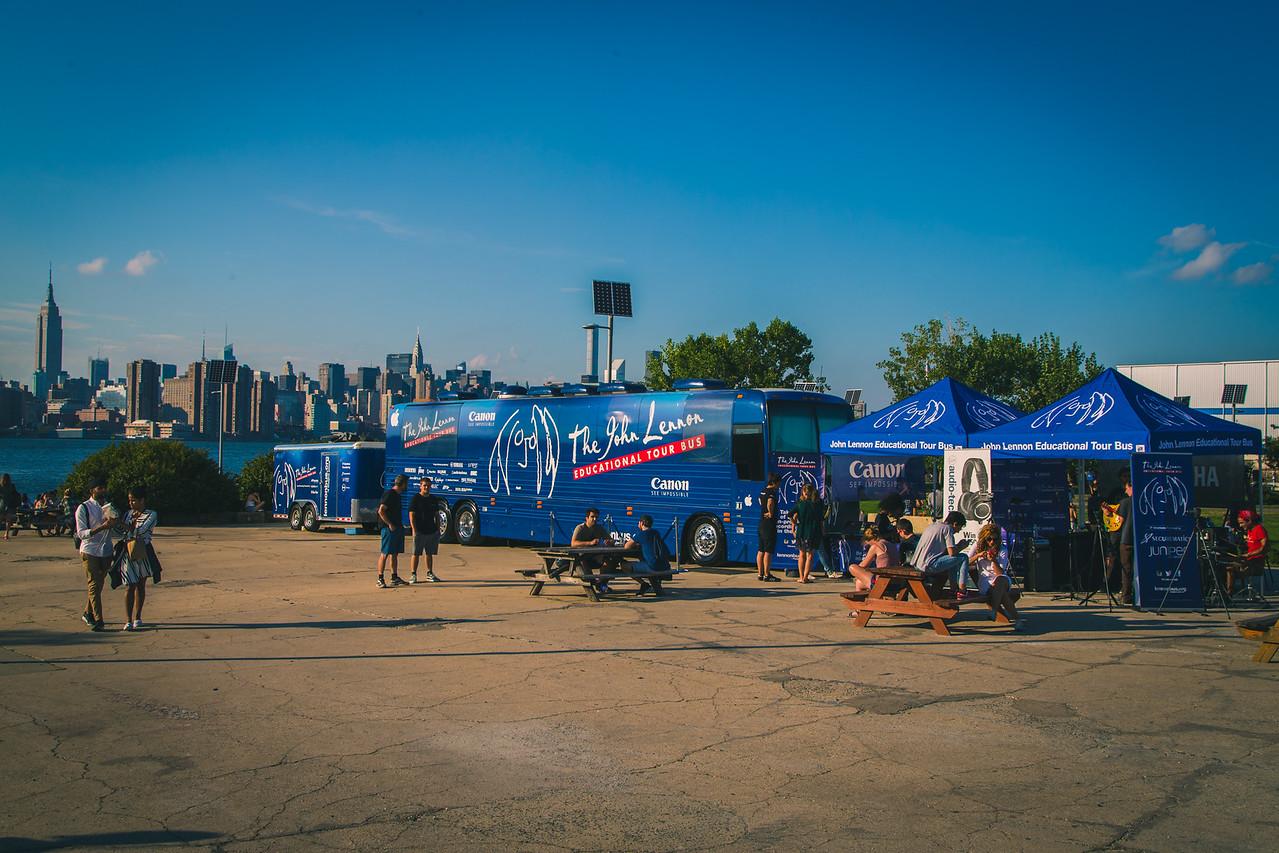 2015_09_19, Brooklyn, New York, NY, NYResidency, Smorgasburg, Tents, Tours, Establishing Shot, lb.org