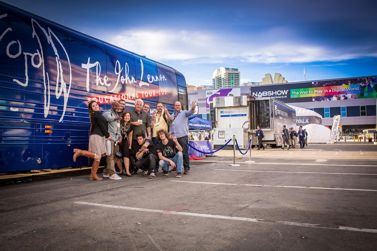 2014_04_09, Las Vegas, NV, USA, Las Vegas Convention Center, NAB, National Association of Broadcasters, JLETB