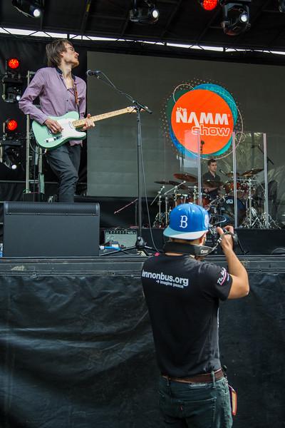 2016_01_22, Anaheim, CA, Convention, JLSC, JLSC Winner, NS16, Performance, The NAMM Show 2016, The Rare Occasions, lb.org