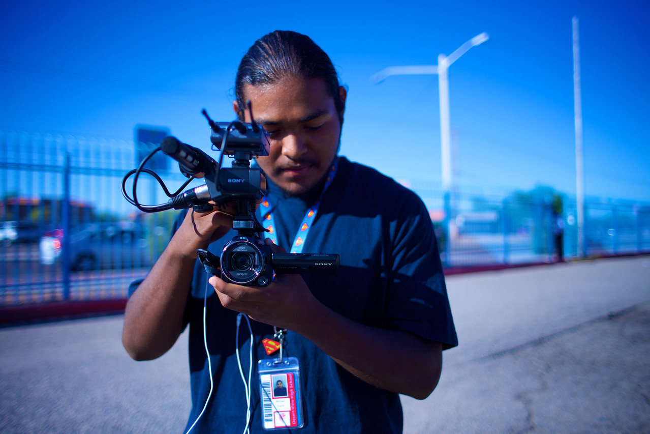 2013_09_11, Tucson, AZ, US Department of Education, Sunnyside High School, Students, Sony, Production, lb.org