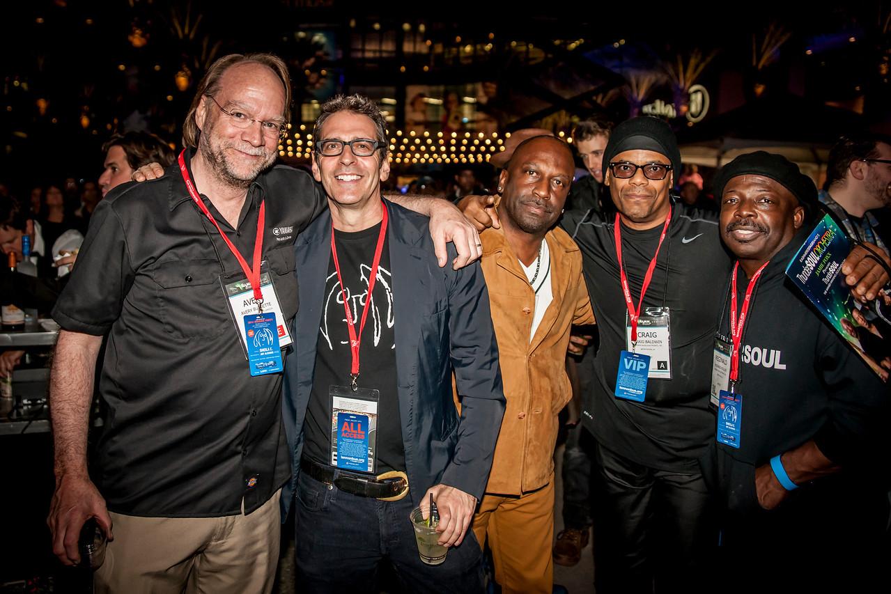 2014_01_24, Anaheim, CA, Anaheim Convention Center, NAMM, Fernando Pullum, Brian rothschild