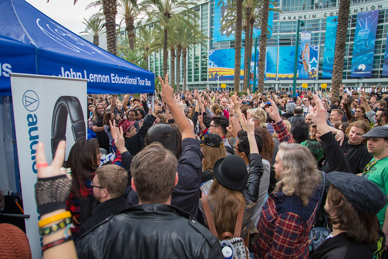 2016_01_22, Anaheim, CA, Convention, JLSC, JLSC Winner, NS16, The NAMM Show 2016, Tents, Crowd, lb.org