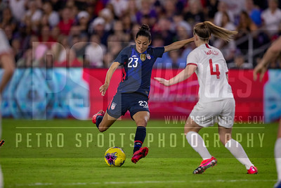 SOCCER: MAR 05 Women's SheBelieves Cup - USA v England
