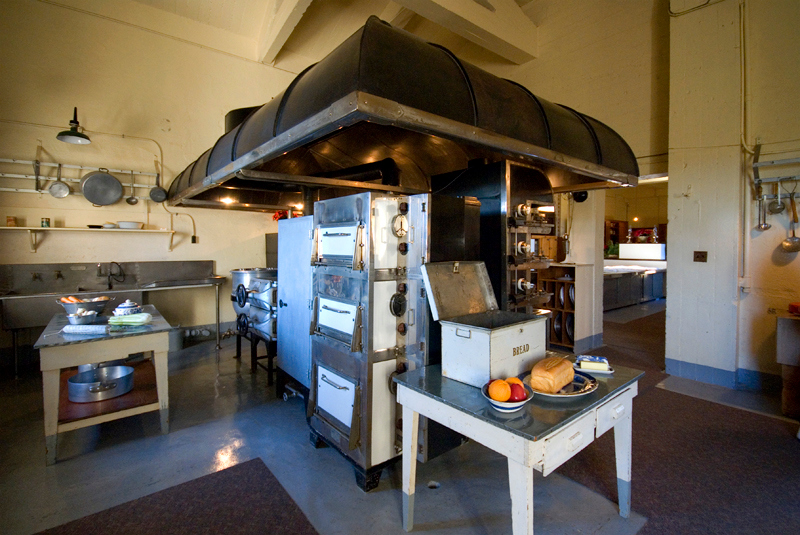 Hearst Castle: Casa Grande Kitchen