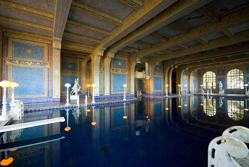 Hearst Castle: Indoor Roman Pool