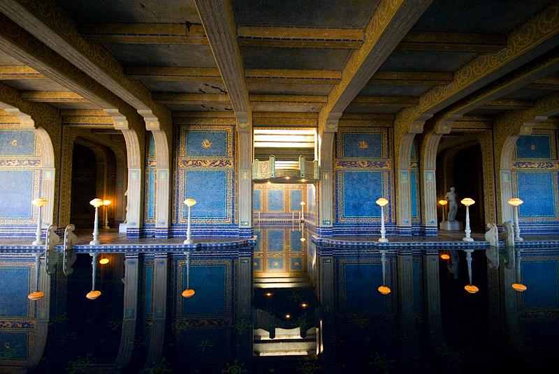 Hearst Castle: Indoor Roman Pool