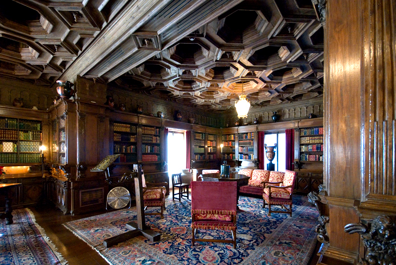 Hearst Castle: Casa Grande Library