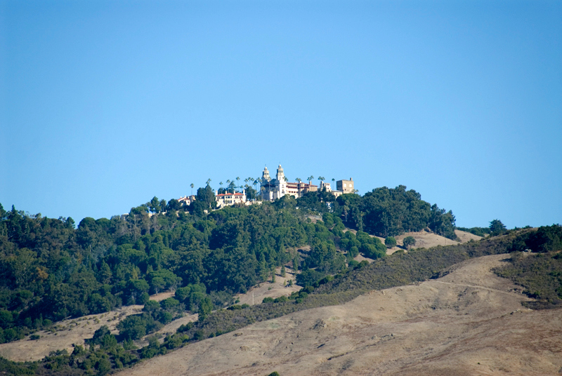 Hearst Castle: The castle on top of the hill