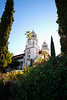 Hearst Castle: Walking up to Casa Grande