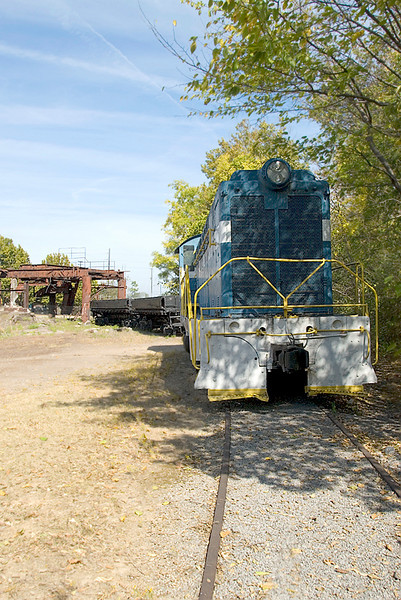 Diesel Switching Engine at Sloss Furnaces National Historic Landmark