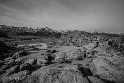 Eastern Sierras, Mt. Whitney, and Alabama Hills. Lone Pine, CA, USA