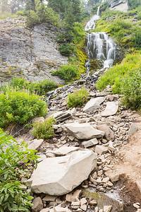 Vidae Falls. Crater Lake National Park - Oregon, USA
