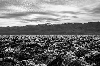 Devil's Golf Course. Death Valley National Park, CA/NV