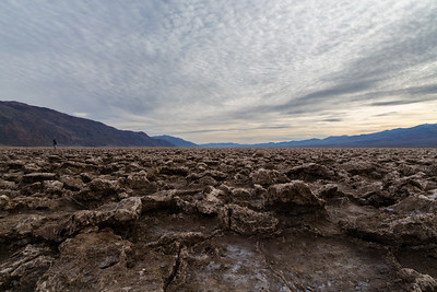 Devil's Golf Course. Death Valley National Park, CA/NV